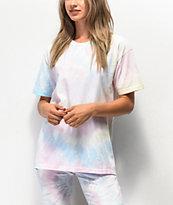 NEW girl ORDER camiseta tie dye de gran tamaño