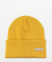 Neff Lawrence Yellow Beanie