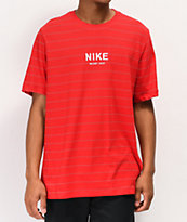 Nike SB Allover Stripe Red T-Shirt