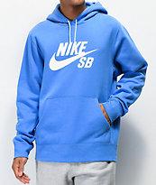 Nike SB Icon Pacific Blue Hoodie
