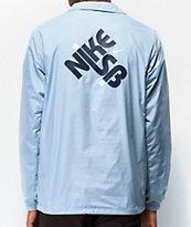 Nike SB Seasonal Light Blue Coaches Jacket