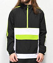 Ninth Hall Enduro Grey & Green Anorak Jacket