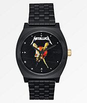 Nixon x Metallica Time Teller Pushead Black Watch