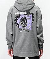 NoHours Death's Door sudadera con capucha gris