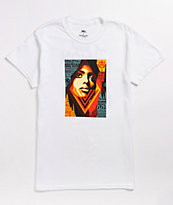 Obey Bias By Numbers White T-Shirt