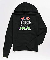 Obey Defend Black Lives Black Hoodie