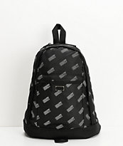 Obey Wayward Day Pack Black & White Mini Backpack