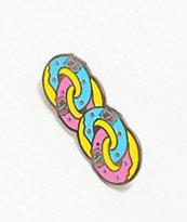 Odd Future x Santa Cruz Donut Chain broche de esmalte