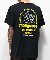 Our Legends x Mongoose Winners camiseta negra