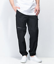 Primitive Clinton Black Track Pants