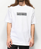 Primitive Finish Line Holographic White T-Shirt