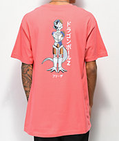 Primitive Frieza Mecha camiseta coral