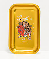 Primitive Ginza bandeja de oro
