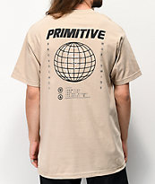 Primitive Global Sand T-Shirt