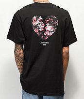 Primitive Heartbreakers Broken Heart camiseta negra