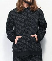 Primitive High Viz Black Hoodie