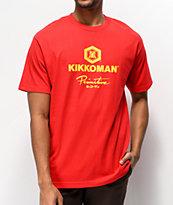 Primitive X Kikkoman Sauce camiseta roja