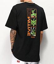 Primitive x Dragon Ball Z Cell Forms camiseta negra
