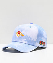 Primitive x Dragon Ball Z Dirty P gorra de tie dye azul