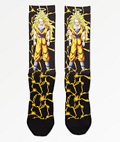 Primitive x Dragon Ball Z Goku Power Level calcetines negros