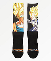 Primitive x Dragon Ball Z Heros calcetines negros