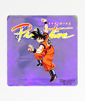 Primitive x Dragon Ball Z Nuevo Goku pegatina