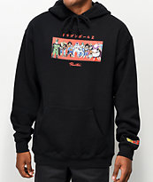 Primitive x Dragon Ball Z Villains sudadera con capucha negra