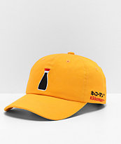 Primitive x Kikkoman Bottle Gold Strapback Hat