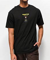 Primitive x Kikkoman Red Cap camiseta negra