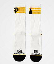 Primitive x Kikkoman Ringer calcetines blancos