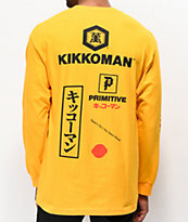 Primitive x Kikkoman Season Gold Long Sleeve T-Shirt
