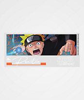 Primitive x Naruto Combat Blue Sticker