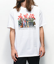 Primitive x Naruto Leaf White T-Shirt