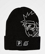 Primitive x Naruto Uzumaki Black Beanie