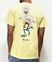 Primitive x Rick and Morty Classic P camiseta amarilla