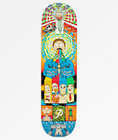"Primitive x Rick and Morty Collage 8.0"" tabla de skate"