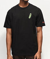 Primitive x Rick and Morty Pickle Rick Black T-Shirt