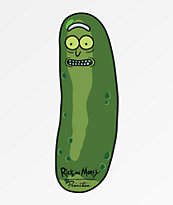 Primitive x Rick and Morty Pickle Rick pegatina