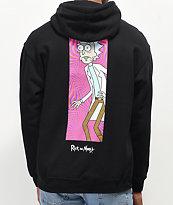 Primitive x Rick and Morty Rick Vortex Black Hoodie