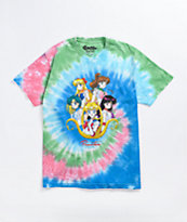 Primitive x Sailor Moon Team Tie Dye T-Shirt