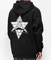 Pyramid Country Glogo sudadera con capucha negra