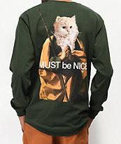 RIPNDIP Nermus camiseta verde de manga larga