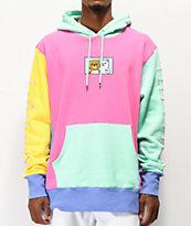 RIPNDIP x Teddy Fresh 2.0 Colorblock sudadera con capucha