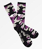 Rothco x Vitriol Purple Zing Crew Socks