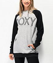 Roxy Liberty Heather Grey Hoodie