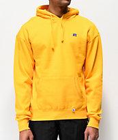 Russell Athletic Mason sudadera con capucha dorada