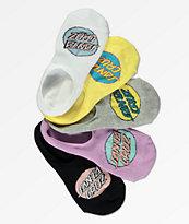 Santa Cruz 5 Pack Pop Dot calcetines invisibles