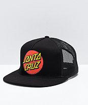 Santa Cruz Dot clásica gorra de camionero