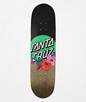 "Santa Cruz Floral Dot 8.25"" Skateboard Deck"