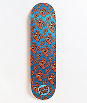 "Santa Cruz Hands All Over Hard Rock 8.25"" Skateboard Deck"